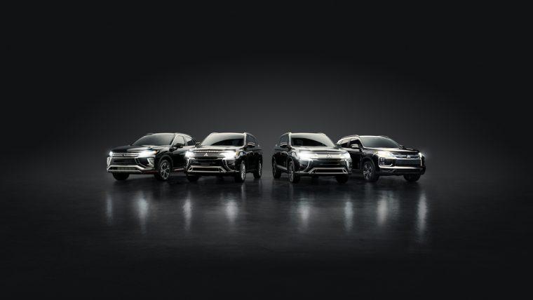 The 2020 Mitsubishi SUV lineup. The Mitsubishi Environmental Plan
