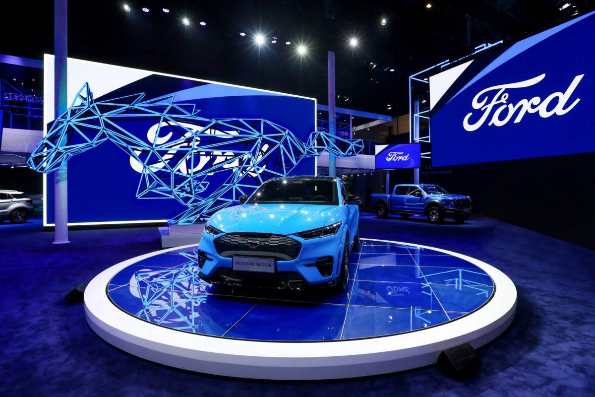 Ford Mustang Mach-E debuts at 2020 Auto China