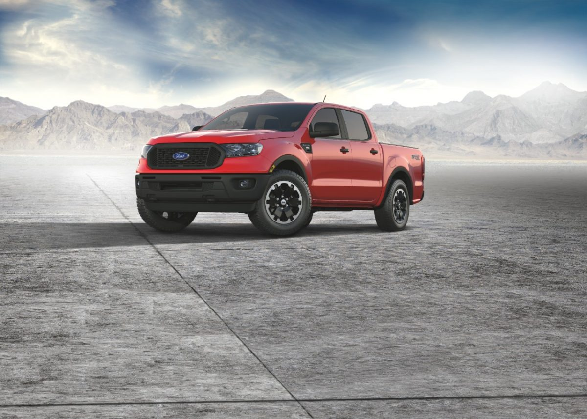 2021 Ford Ranger XL STX Special Edition Package