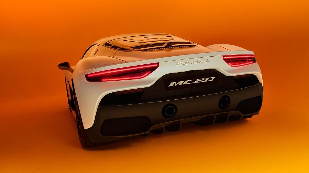 2021 Maserati MC20 rear end