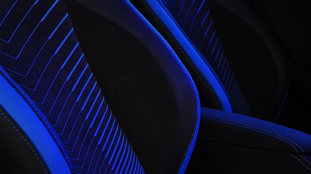 2021 Maserati MC20 seat fabric