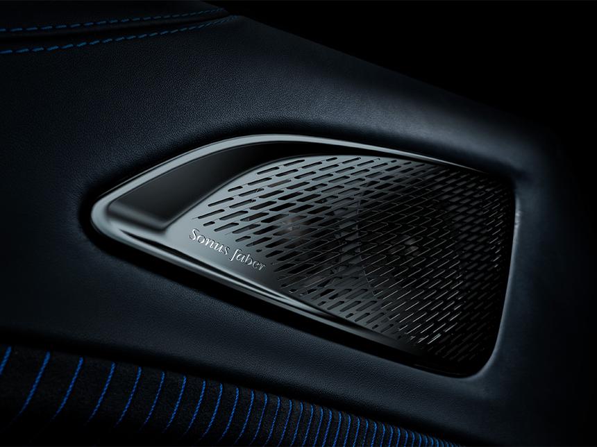 2021 Maserati MC20 speakers