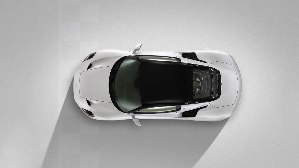 2021 Maserati MC20 top view