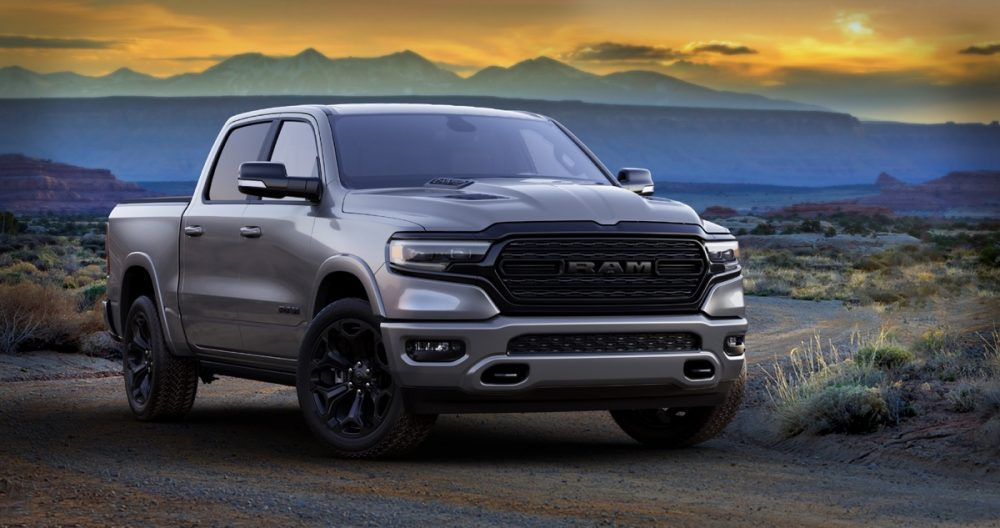 The 2021 Ram 1500 Limited Night Editions