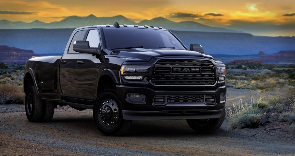 The 2021 Ram Heavy Duty Limited Night Editions