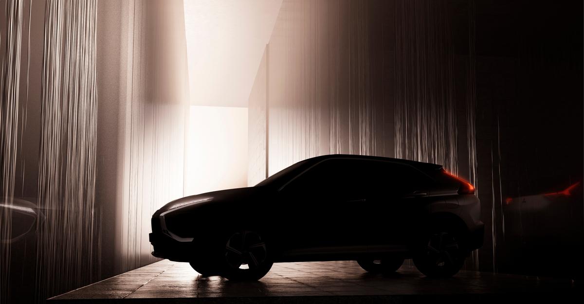 A glimpse of the 2022 Mitsubishi Eclipse Cross.