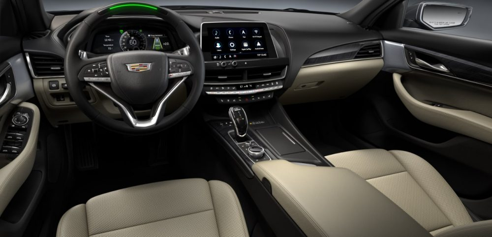 21MY CT5-V Interior with Super Cruise