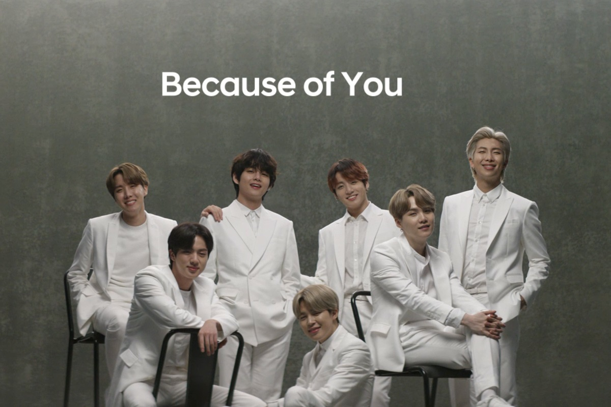 BTS Hyundai Because of You Earth Day Campaign
