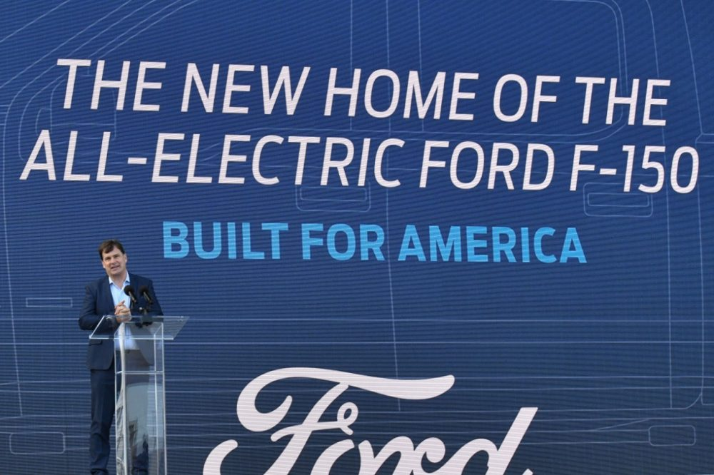 Ford CEO Jim Farley Rouge Electric Vehicle Center