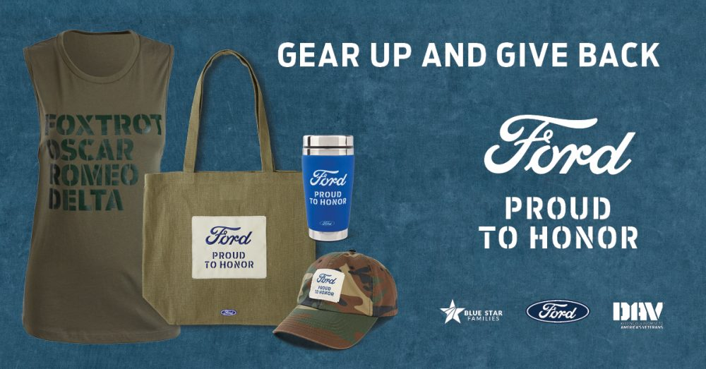 Ford Proud to Honor merchandise line