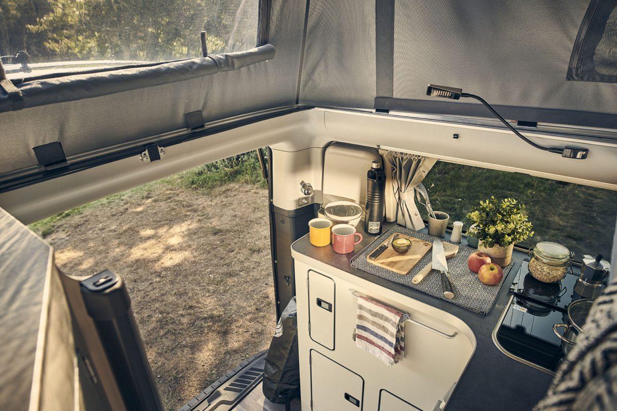Ford Transit Nugget Plus tilt roof option