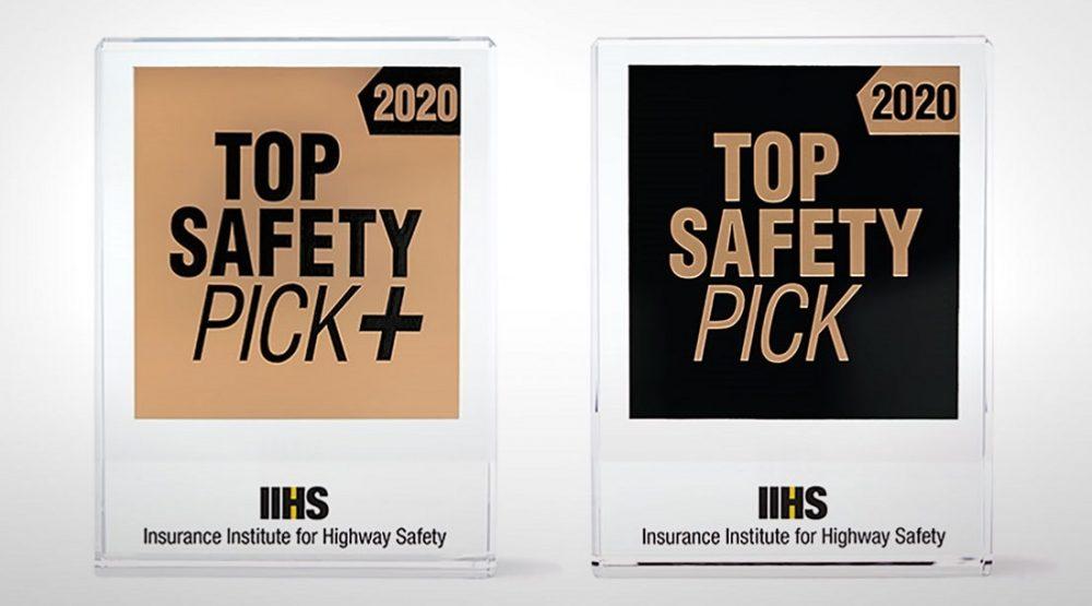 IIHS safety ratings