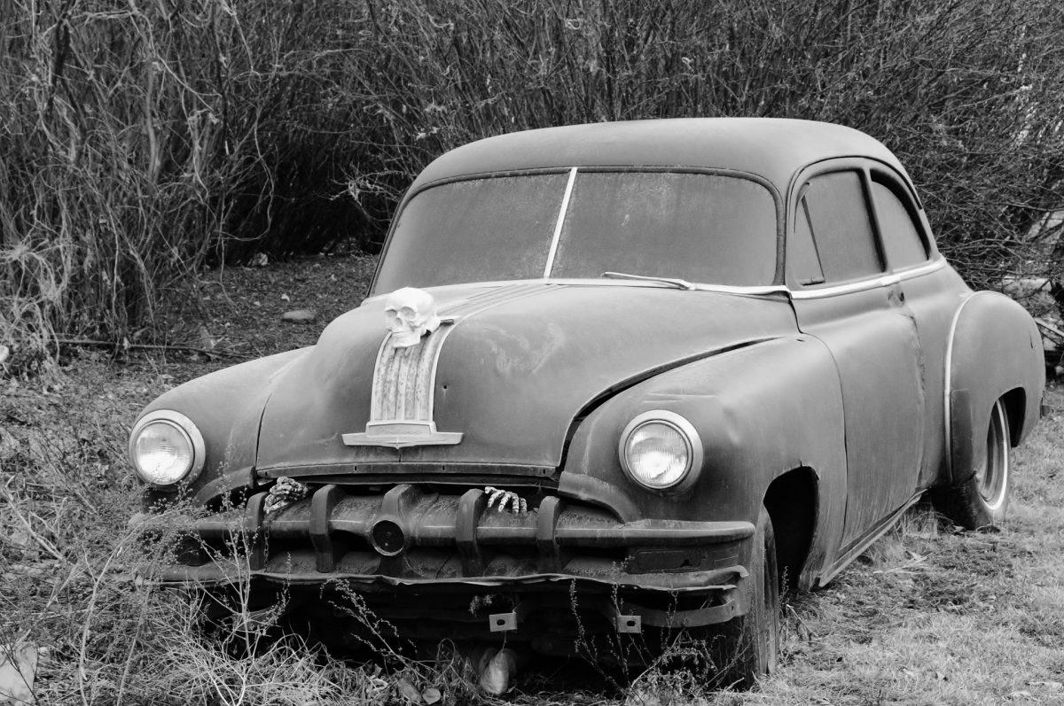 haunted car halloween