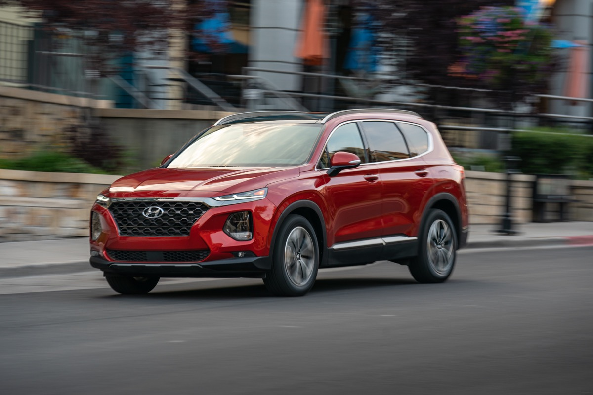 2020 Santa Fe made The 16 Roomiest Midsize SUVs in 2020 list