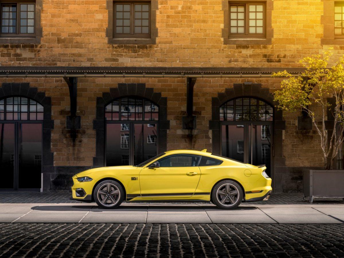 2021 Ford Mustang Mach 1 Grabber Yellow Goodwood
