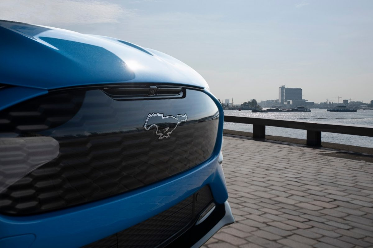 2021 Ford Mustang Mach-E GT Europe