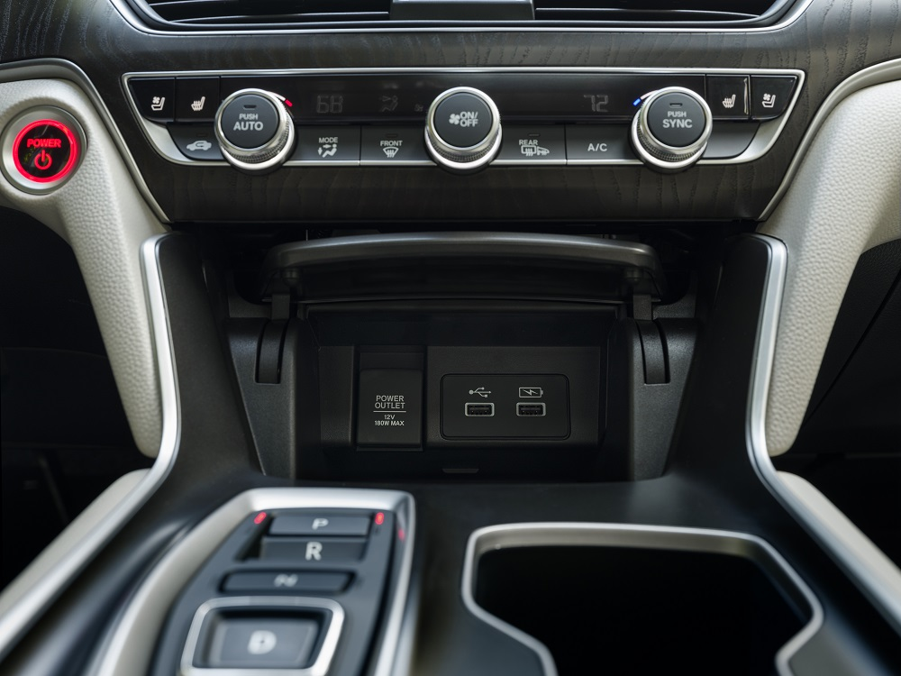 2021 Honda Accord Hybrid USB ports
