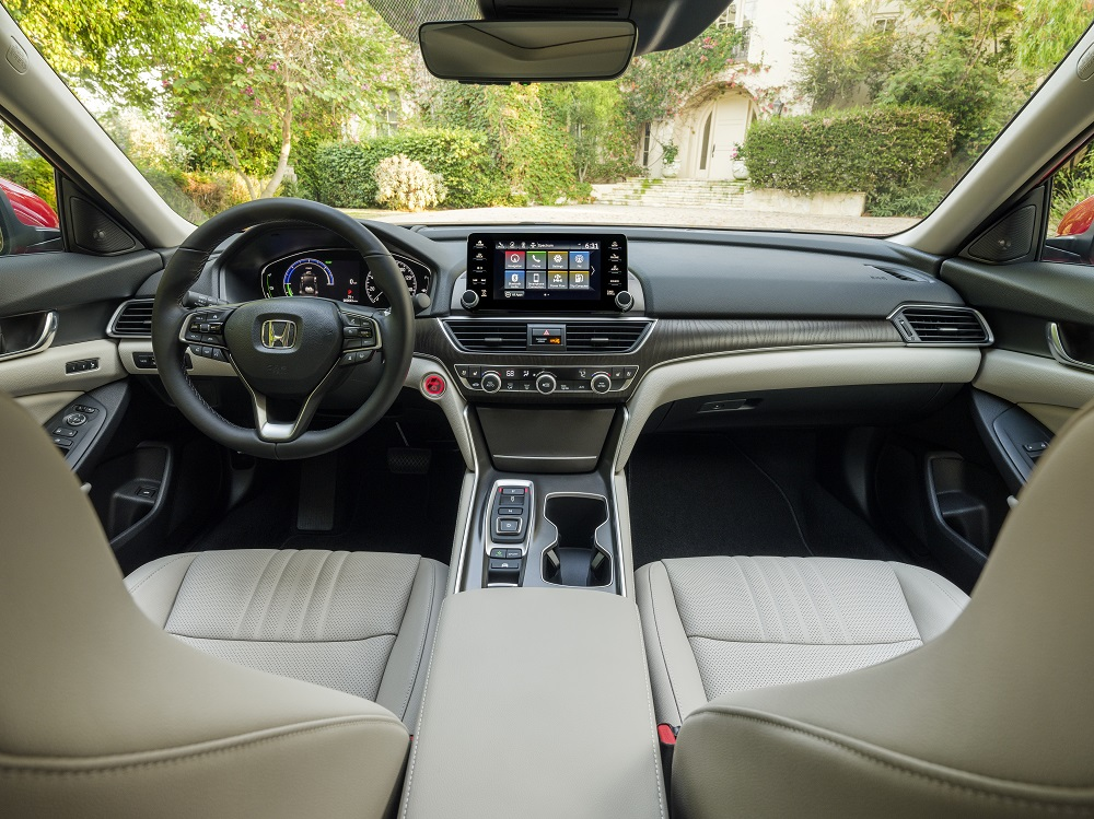 2021 Honda Accord Hybrid cockpit