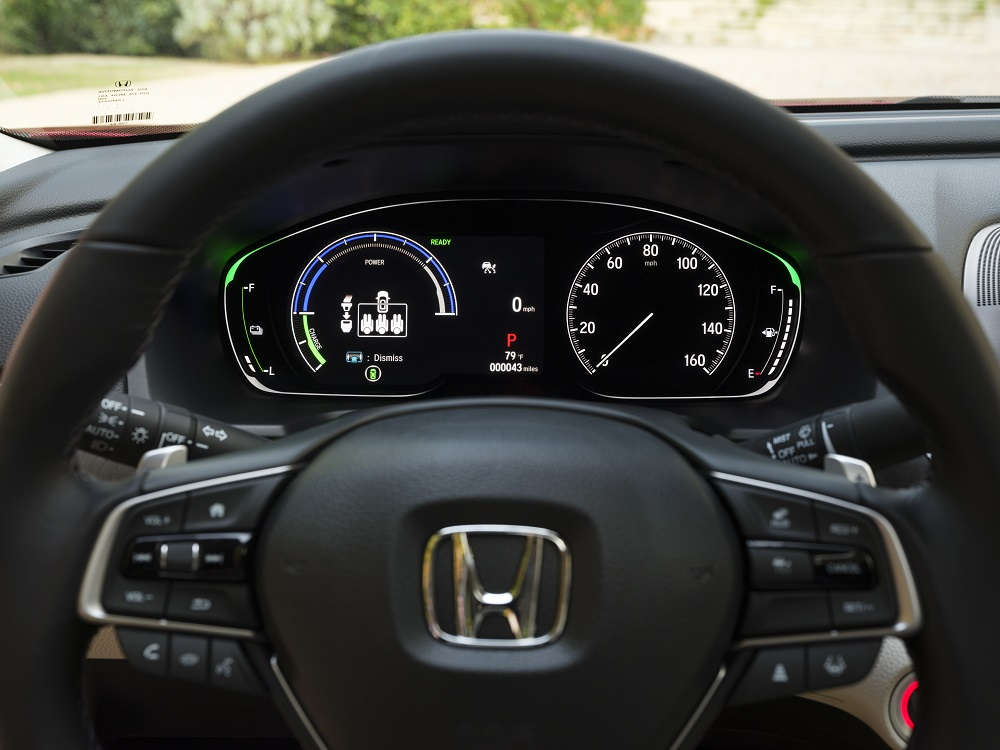 2021 Honda Accord Hybrid digital cluster