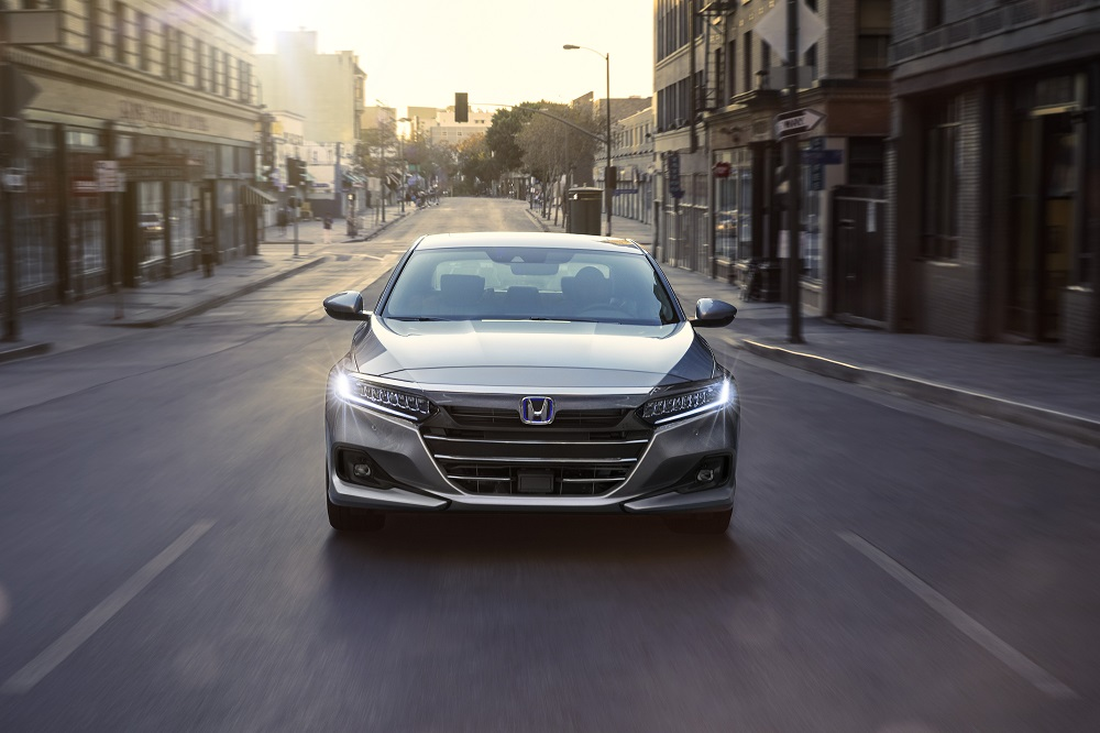 2021 Honda Accord Hybrid front end