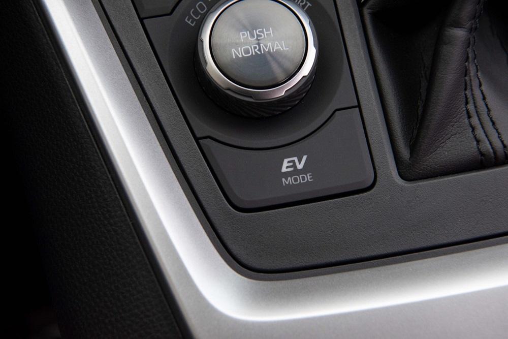 2021 Toyota RAV4 Limited control knob