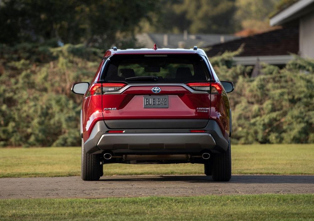 2021 Toyota RAV4 Limited rear end