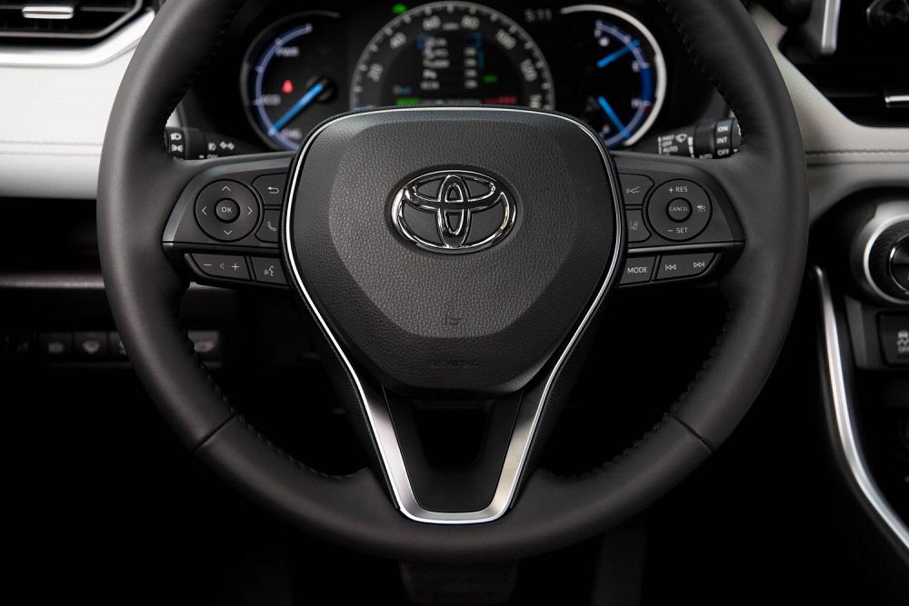 2021 Toyota RAV4 Limited steering wheel