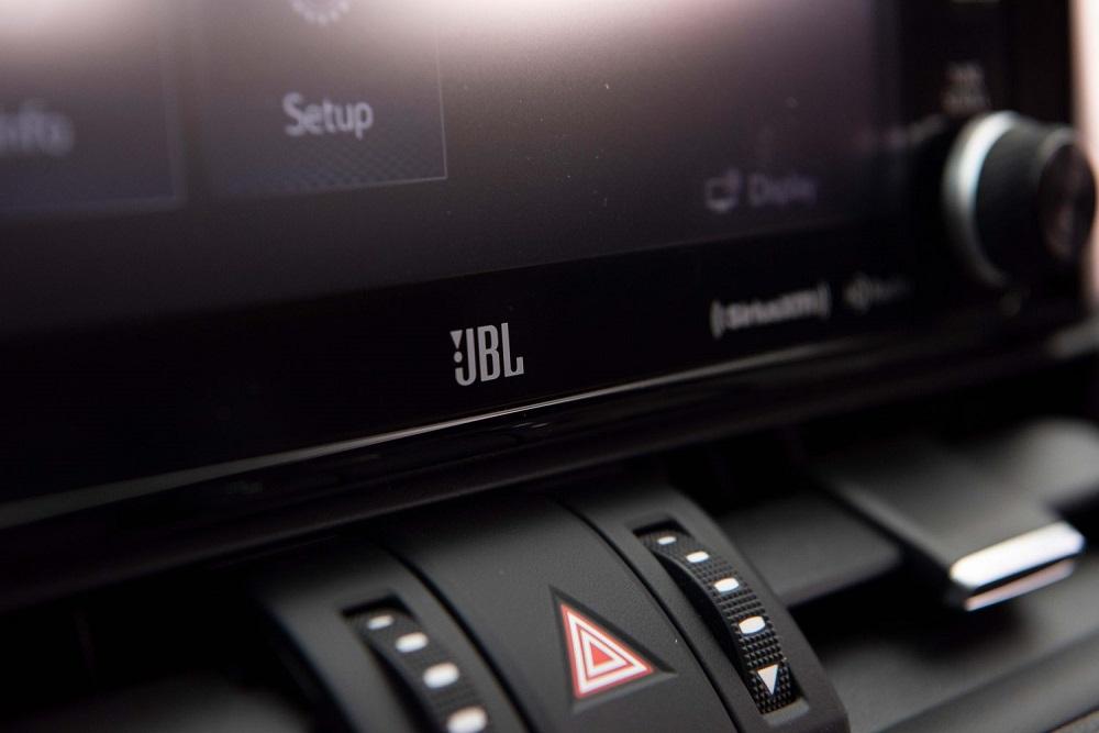 2021 Toyota RAV4 XSE JBL logo