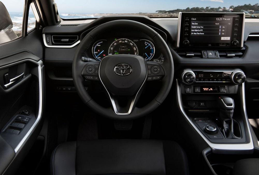 2021 Toyota RAV4 XSE driver view