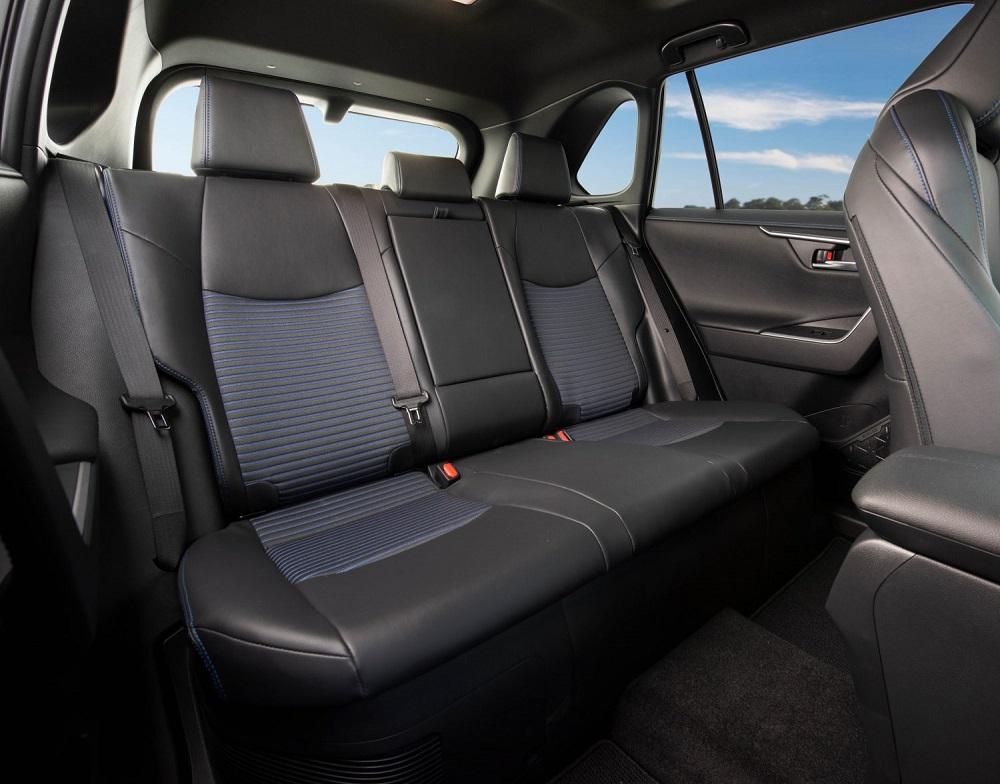2021 Toyota RAV4 XSE rear seats