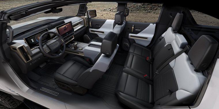 2022 GMC Hummer EV has an Easter egg