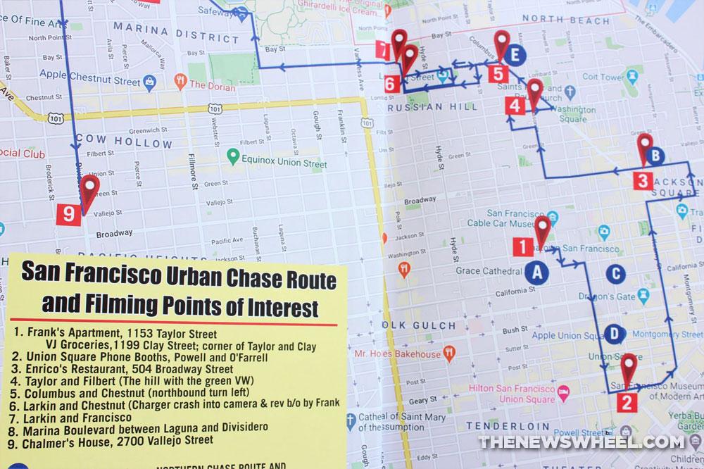 Bullitt Book Review Steve McQueen movie cars Mustang Matt Stone CarTech 2020 driving map San Francisco