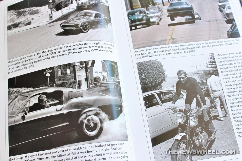 Bullitt Book Review Steve McQueen movie cars Mustang Matt Stone CarTech 2020 film scenes