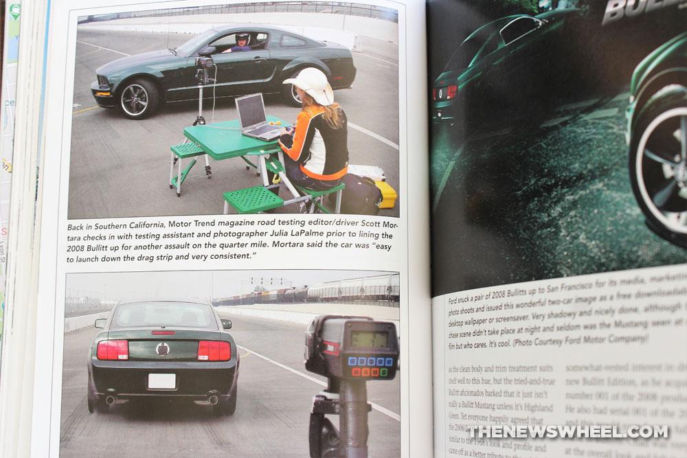 Bullitt Book Review Steve McQueen movie cars Mustang Matt Stone CarTech 2020 pages buy