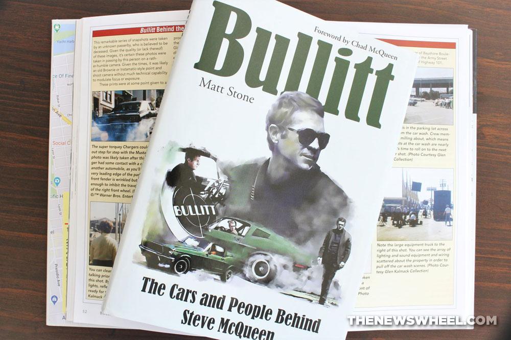 Bullitt Book Review Steve McQueen movie cars Mustang Matt Stone CarTech 2020