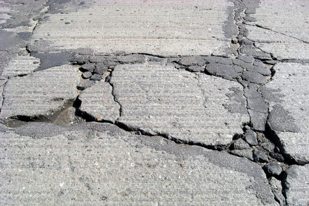 Cracks in Driveway Crack Concrete