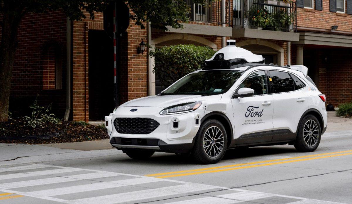 Ford self-driving Hybrid Escape Argo AI