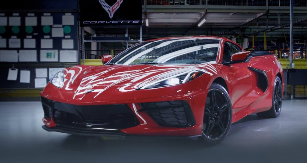The Chevrolet Corvette C8 is manufactured in Bowling Green, Kentucky. GM has most American-made vehicles