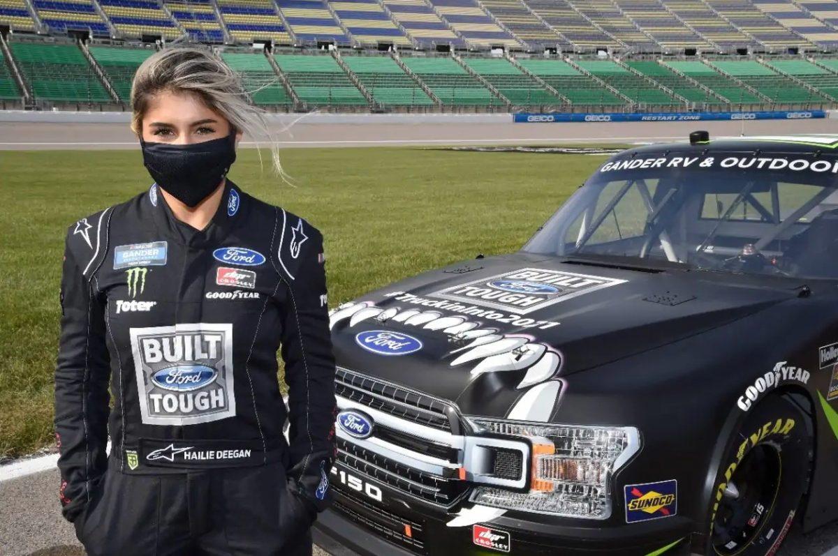 Hailie Deegan joins the NASCAR Truck Series in 2021