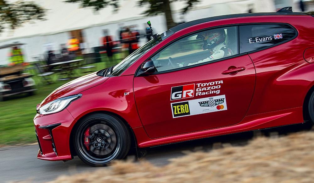 New Toyota GR Yaris at Goodwood Speedweek