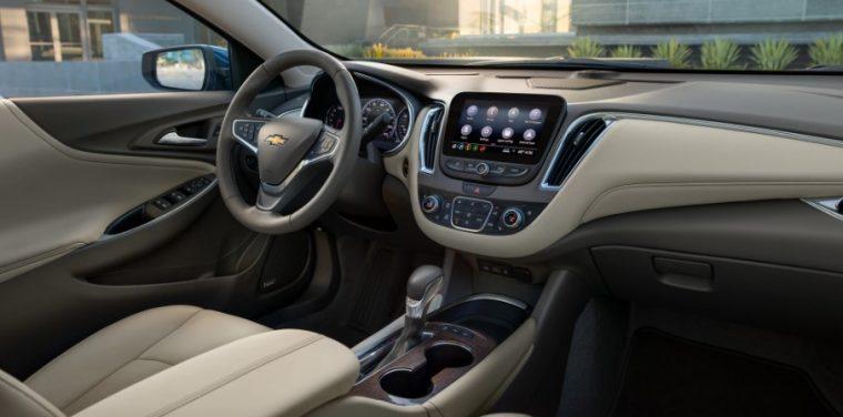 2021 Chevrolet Malibu2021 Chevrolet Malibu Premier interior in Light Wheat