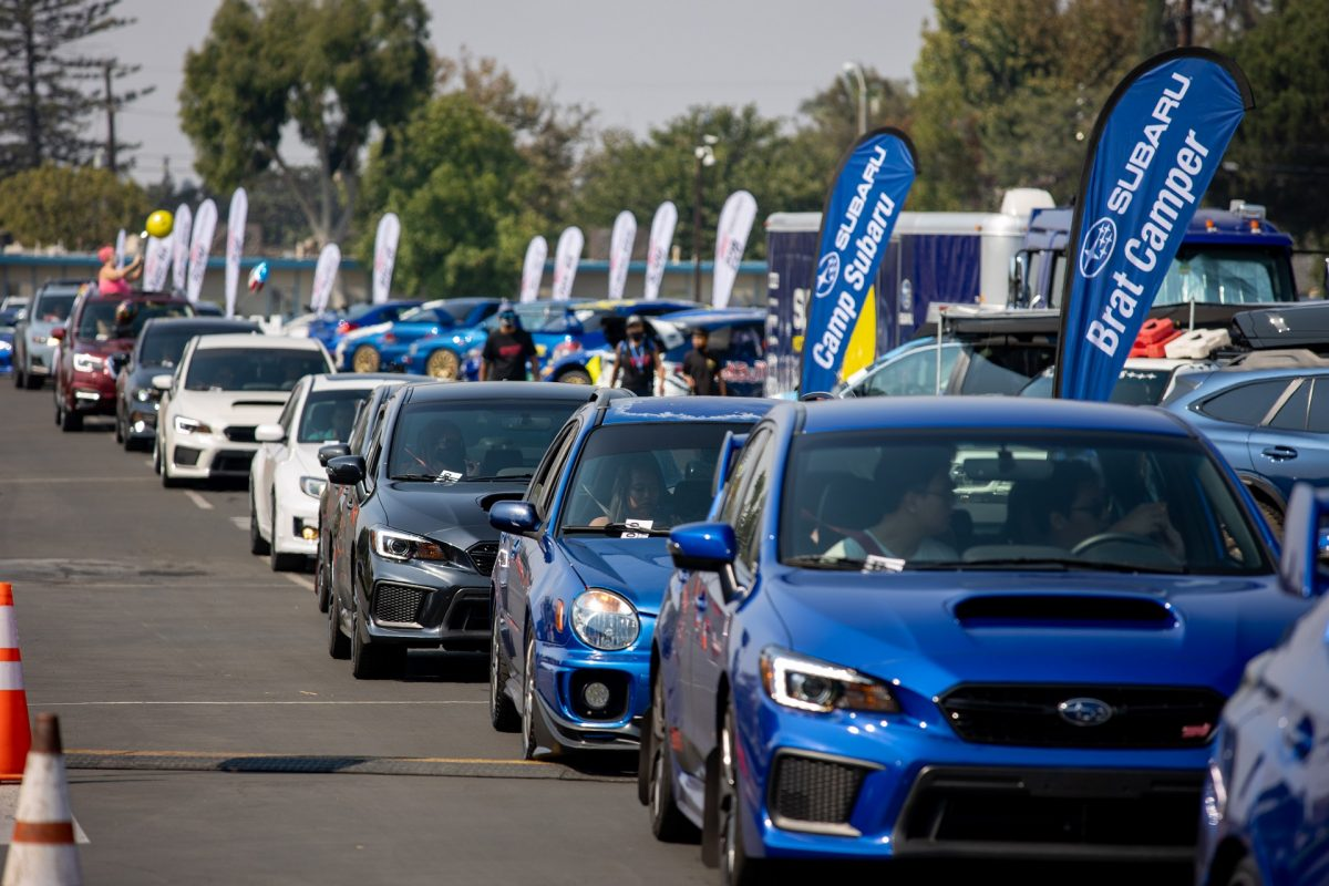 """A glimpse of the record turnout at """"Subiefest"""" 2020."""