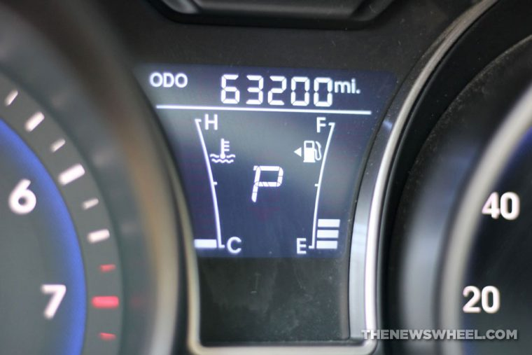 used car odometer mileage dashboard miles deal excessive
