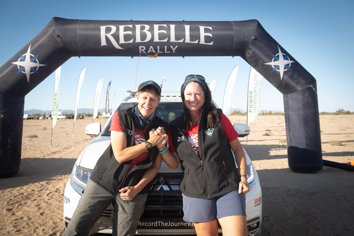 Team Record The Journey in the Rebelle Rally