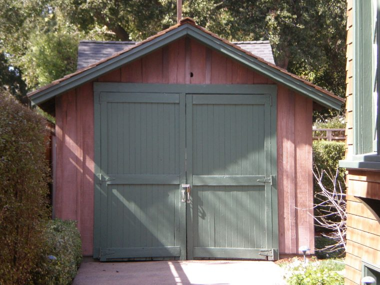 historic detached garage