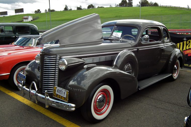 A 1938 Buick Century, one of the many cars that isn't in Assassin's Creed Valhalla
