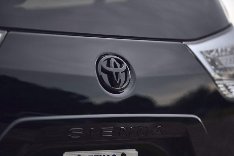 2020 Toyota Sienna Nightshade Badge