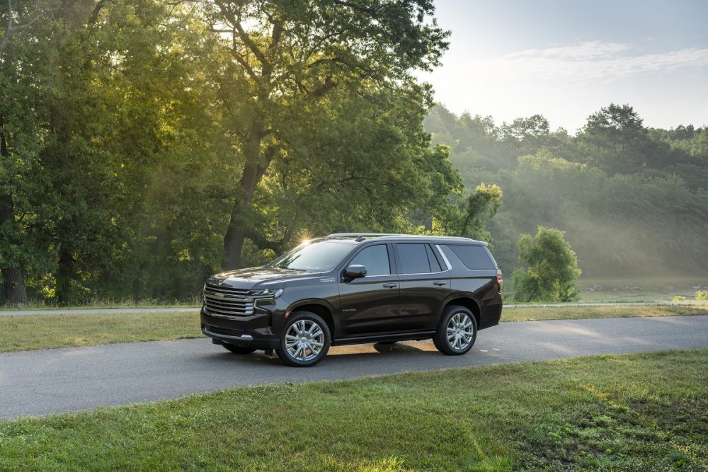 2021 Chevrolet Tahoe High Country. Tahoe and Suburban are Best Buys