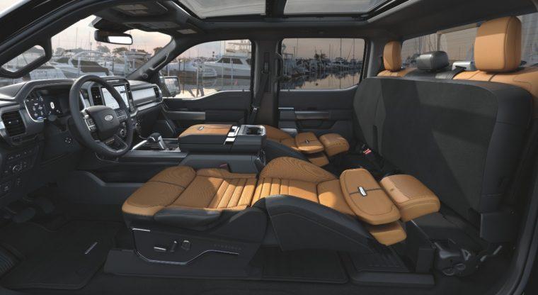 2021 Ford F-150 Max Recline Seats