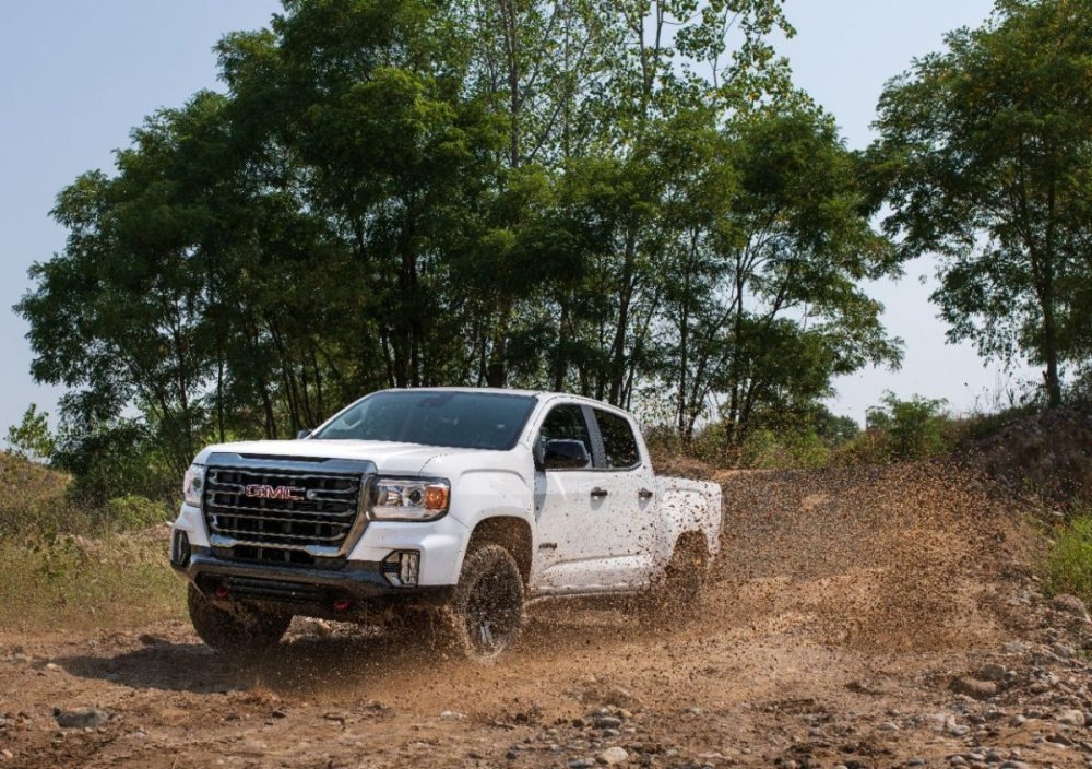 The 2021 GMC Canyon AT4 Off-Road Performance Edition